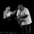Dave Brubeck Quartet: Dave brubeck: piano, Bobby Militello: sax alto, flauto, Michael Moore: contrabbasso, Randy Jones: batteria - Anfiteatro Le Ciminiere - Catania - Etnafest 27/6/2004